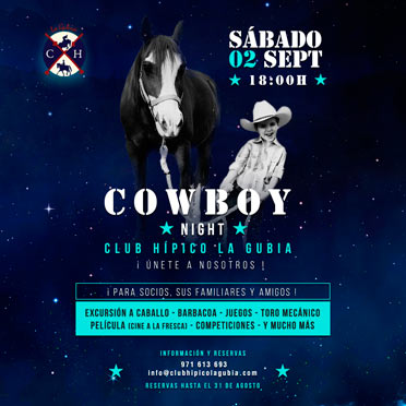 Cowboy Night 2017 Club Hípico La Gubia