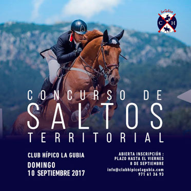 Territorial jumping competition 2017 - Club Hípico La Gubia