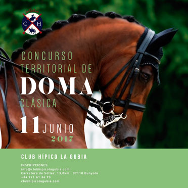 Territorial Dressage Competition 2017 Club Hípico La Gubia