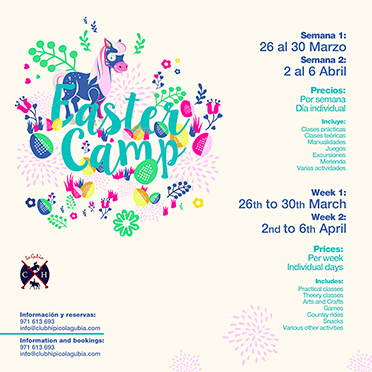 Easter Camp - Club Hípico La Gubia