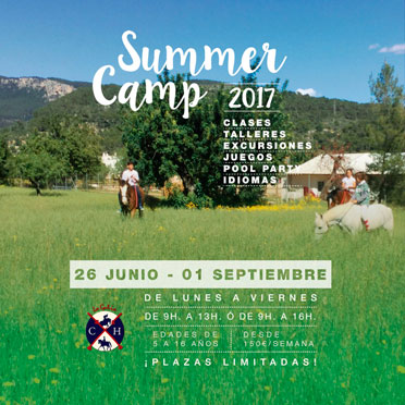 Summer Camp 2017 Club Hípico La Gubia