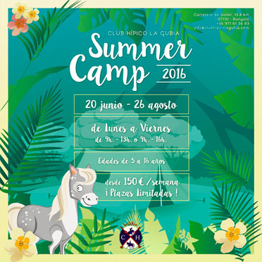 Summer Camp 2016 Club Hípico La Gubia